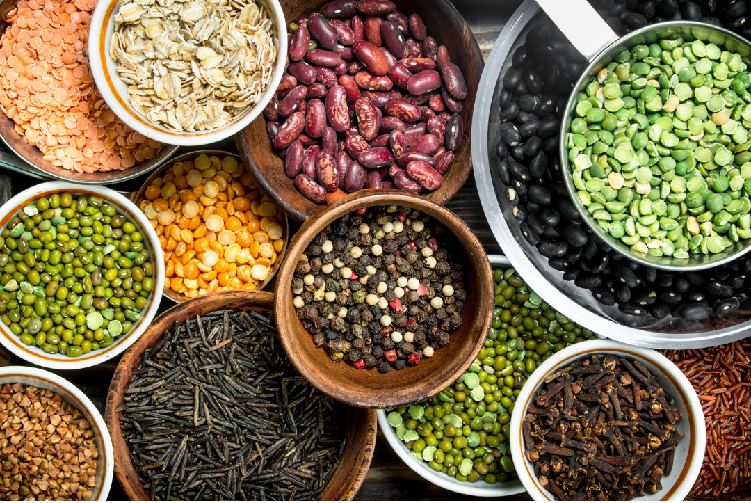 Legumes are wonderful for your gut microbiome.